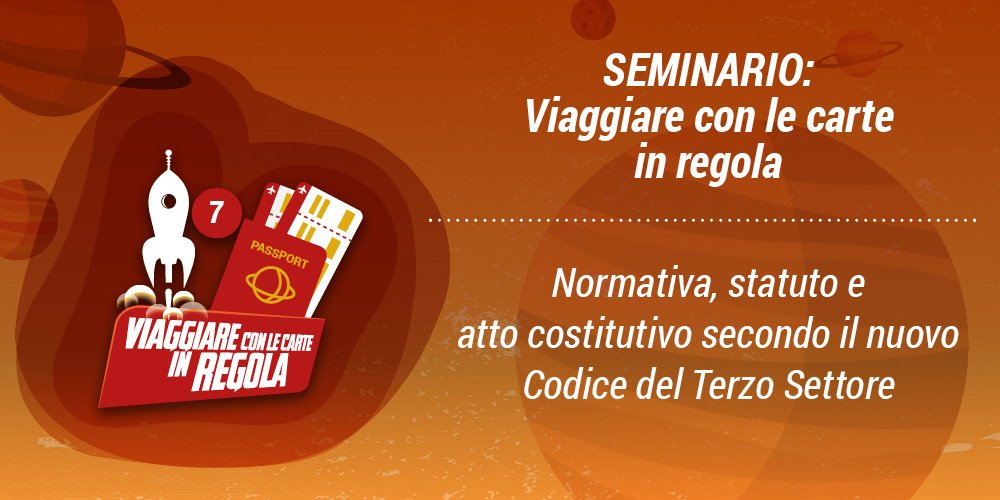 SEMINARIO IRTS: VIAGGIARE CON LE CARTE IN REGOLA