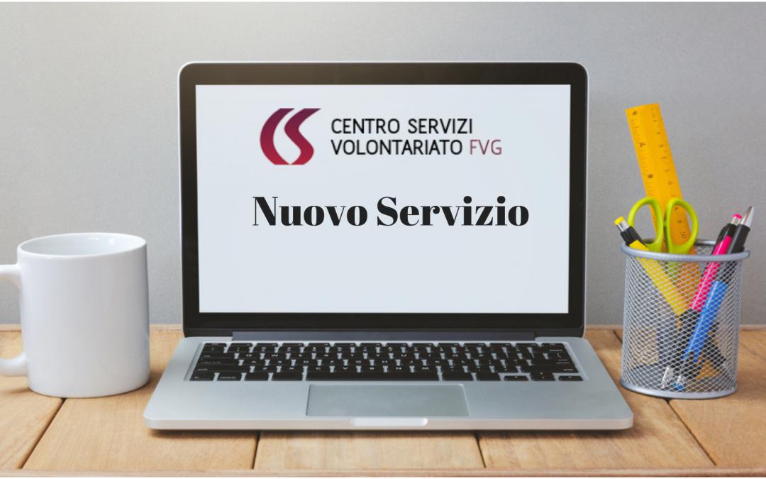 NUOVO SERVIZIO CSV: PUBBLICAZIONE CONTRIBUTI PUBBLICI