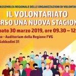 """""""Il Volontariato verso una nuova stagione""""- XVIII Assemblea regionale del Volontariato"""