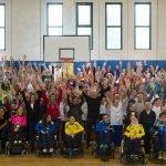 23^ Giornate di Sport Cultura Solidarietà - dimostrazioni di sport integrato con studenti e persone con disabilità