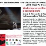 Workshop di scrittura teatrale e sceneggiatura