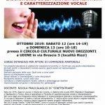 Laboratorio di interpretazione e caratterizzazione vocale