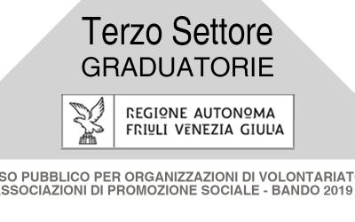 Graduatorie  contributi Terzo settore – Anno 2019