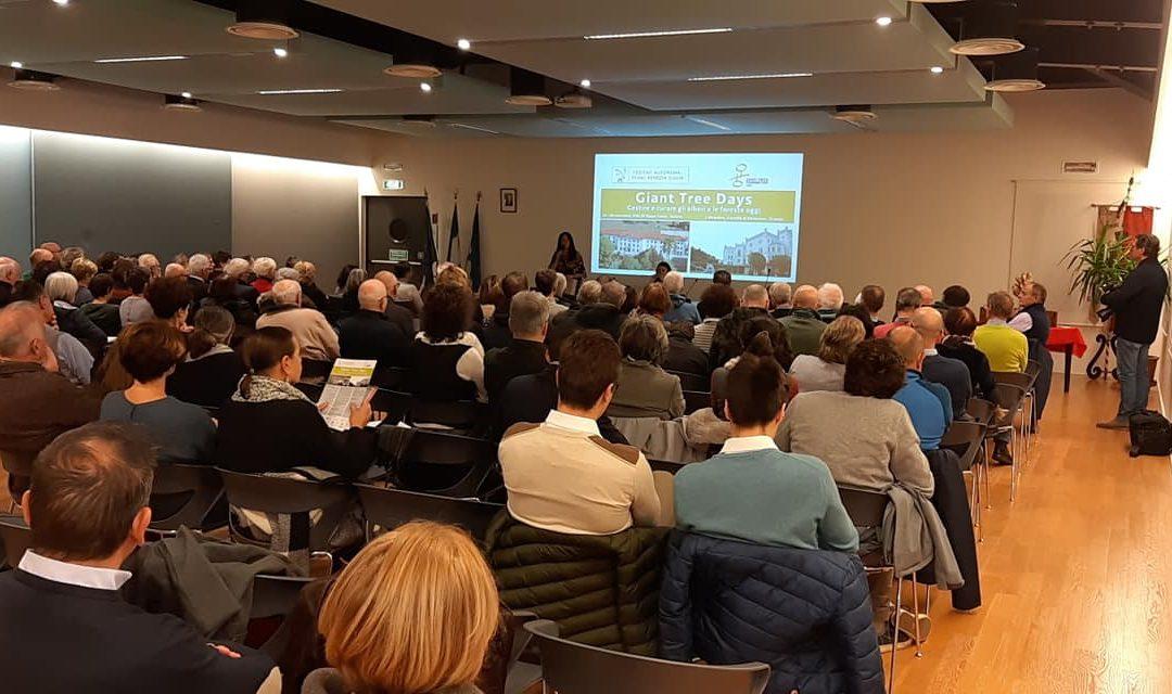 GIANT TREE DAYS: PRESENTATI I NUOVI PROGETTI 2020 – 2022