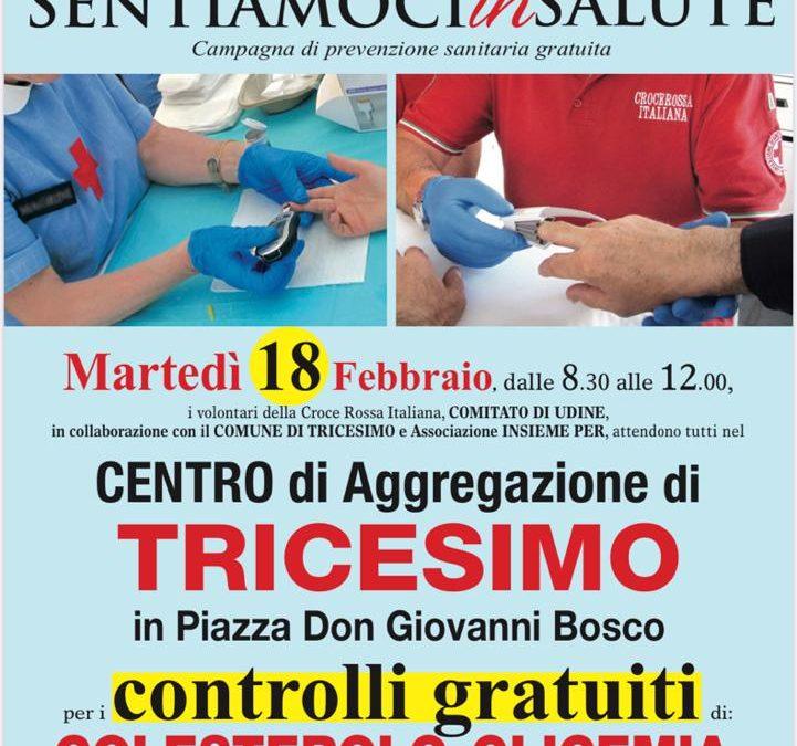 SENTIAMOCI in SALUTE campagna di prevenzione sanitaria gratuita