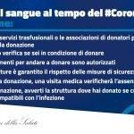 DONARE IL SANGUE AL TEMPO DEL CORONAVISUR #ilvolontariatononsiferma