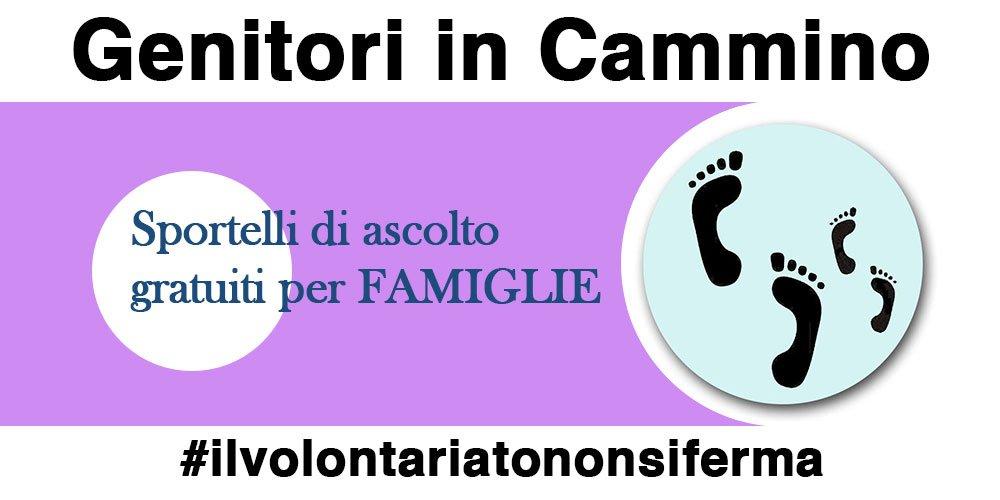 GENITORI IN CAMMINO – Sostegno per Famiglie #ilvolontariatononsiferma