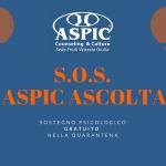 S.O.S. ASPIC ASCOLTA #ilvolontariatononsiferma