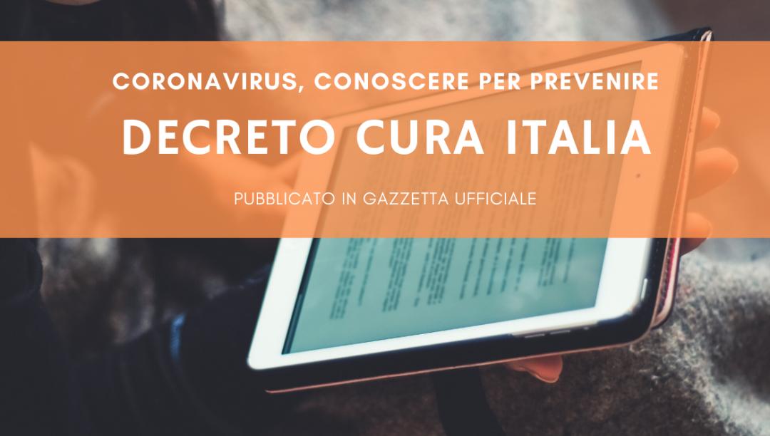 DECRETO CURA ITALIA – AGGIORNAMENTI PER GLI ETS