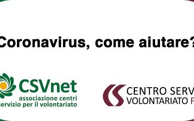 Coronavirus, come aiutare? Lo spiega l'Università del volontariato