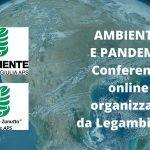 Ambiente e Pandemie conferenze online