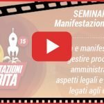 "VIDEO - ""Manifestazioni in Orbita in Epoca Covid"""