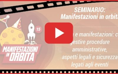 "VIDEO – ""Manifestazioni in Orbita in Epoca Covid"""