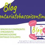 Progetto 2020-2021  BLOG volontariatobassoisontino.it