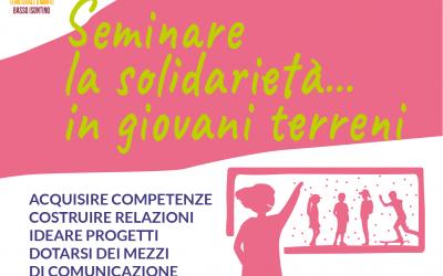 Progetto 2020-2021 SEMINARE LA SOLIDARIETA'… IN GIOVANI TERRENI