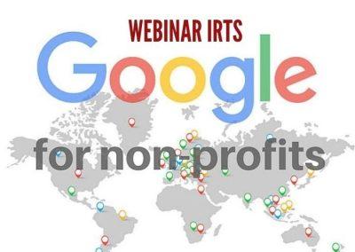 """[VIDEO WEBINAR IRTS] """"Google per il Non Profit"""" 02 dicembre 2020"""