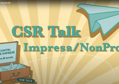 CSR Talk – Impresa/NonProfit SPOT