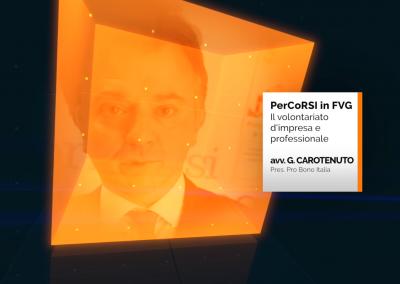 Volontariato d'impresa e professionale – G. Carotenuto/Probono Italia