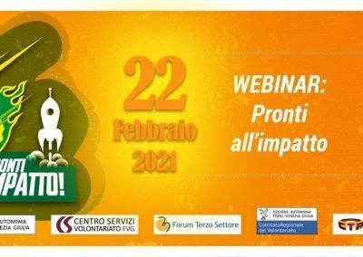 """Webinar IRTS """"Pronti all'impatto"""" – 1° Edizione  22.02.2021"""