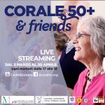 PARTECIPA AL CORO VIRTUALE  50+ & FRIENDS