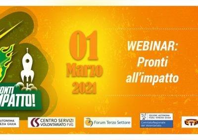 Webinar IRTS Pronti all'impatto – 1°  Edizione  01.03.2021