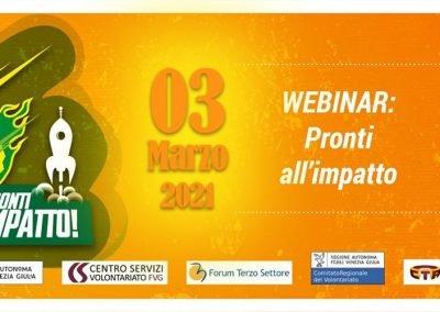 Webinar IRTS Pronti all'impatto – 1° Edizione 03.03.2021
