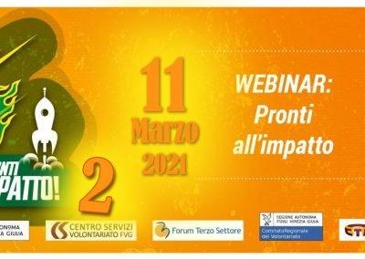 Webinar IRTS Pronti all'impatto – 2° Edizione 11.03.2021