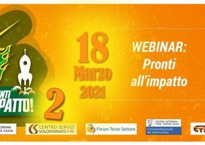 Webinar IRTS Pronti all'impatto – 2°  Edizione  18.03.2021
