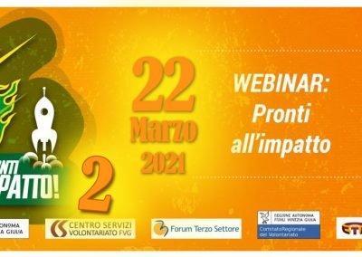 Webinar IRTS Pronti all'impatto – 2°  Edizione  22.03.2021
