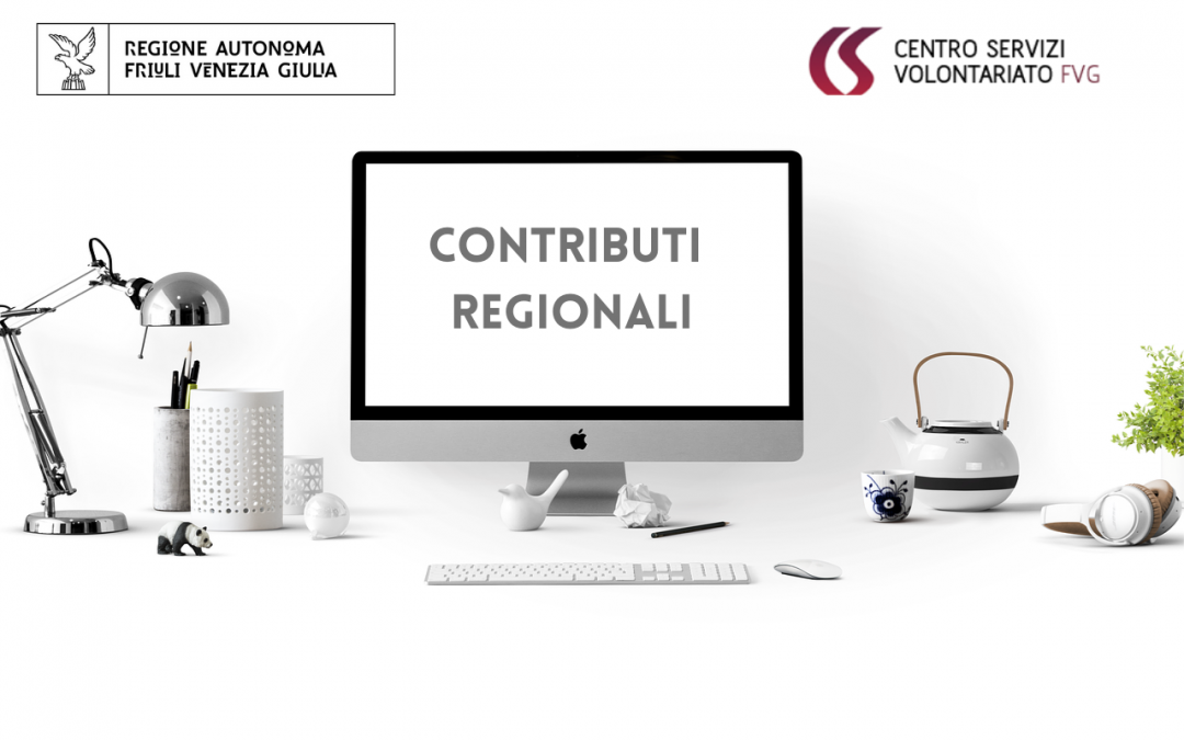 CONTRIBUTI REGIONALI 2021 – Avvio Procedimento.