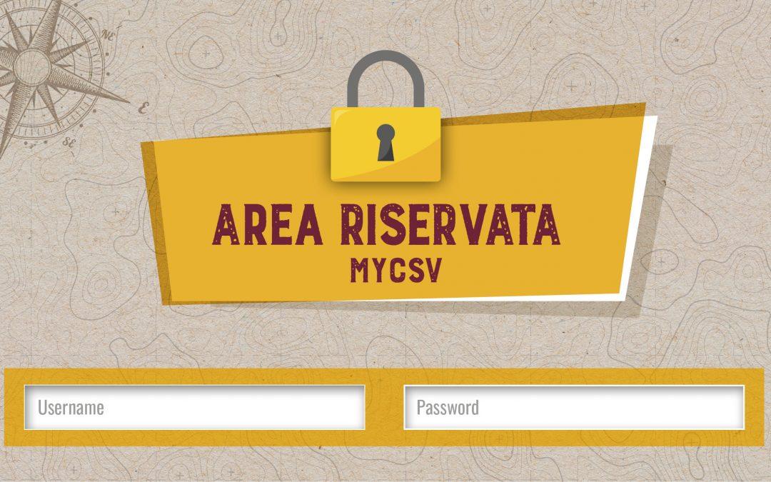 CONSULENZE AREA RISERVATA MYCSV – Iniziativa CSVconTe