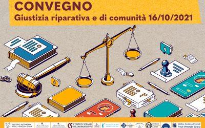 CONVEGNO GIUSTIZIA RIPARATIVA E DI COMUNITA'